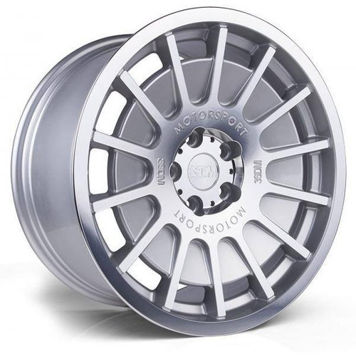 3SDM 0.66 Alloy Wheels Silver / Mirror Polished Face