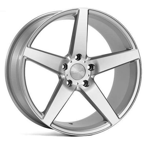 Veemann V-FS8 Alloy Wheels Silver Machined