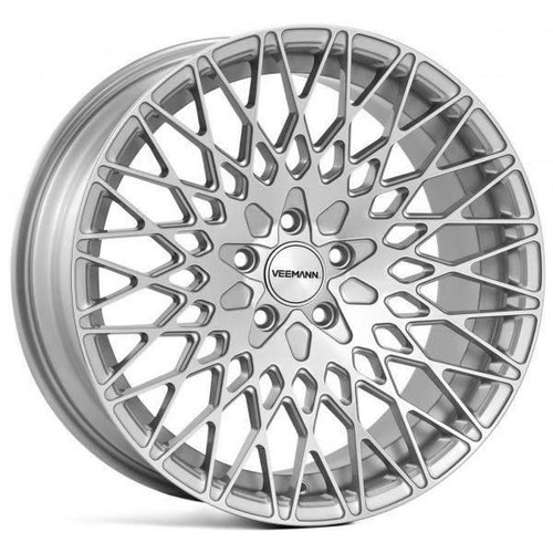 Veemann VC540 Alloy Wheels Silver Machined