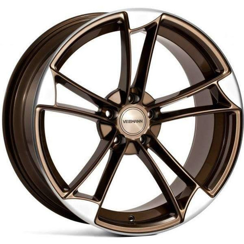 Veemann VM1 Alloy Wheels Bronzed Machined Polish