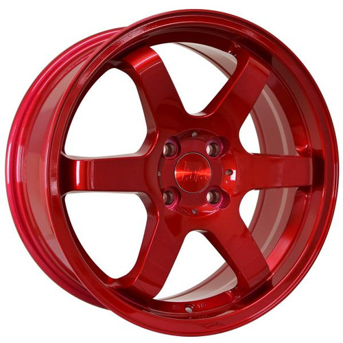 Bola B1 Alloy Wheels Candy Red