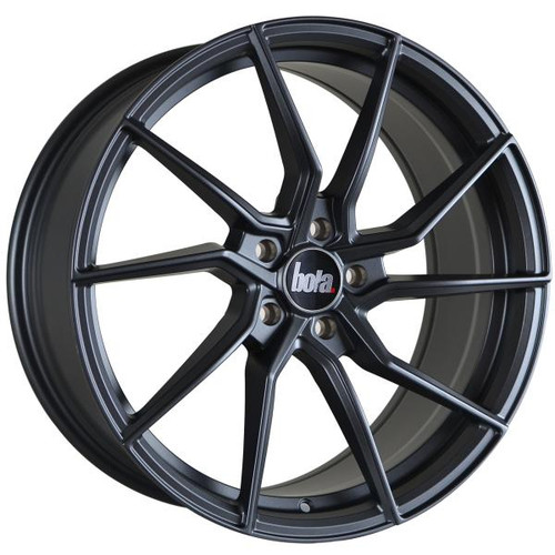 Bola B25 Alloy Wheels Matt Gunmetal