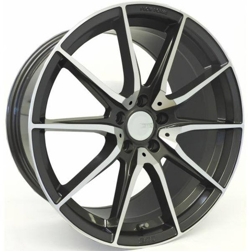 Zito ZF03 Alloy Wheels Gunmetal Polished Face