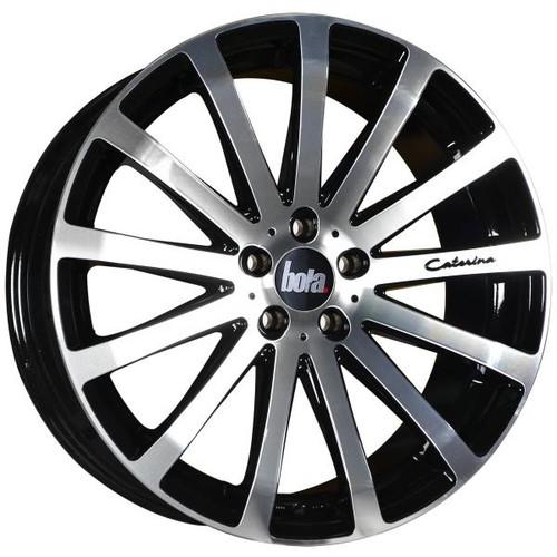 Bola XTR Alloy Wheels Gloss Black Polished Face