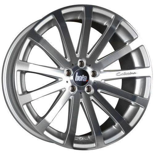 Bola XTR Alloy Wheels Silver Polished Face