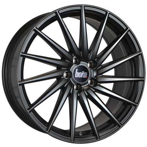Bola ZFR Alloy Wheels Matt Black