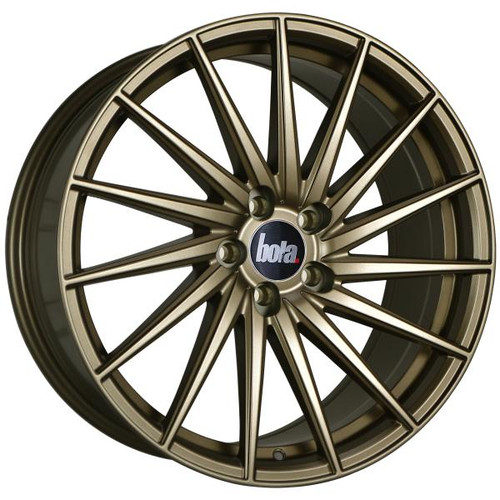 Bola ZFR Alloy Wheels Matt Bronze