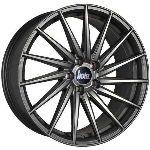 Bola ZFR Alloy Wheels Matt Gunmetal