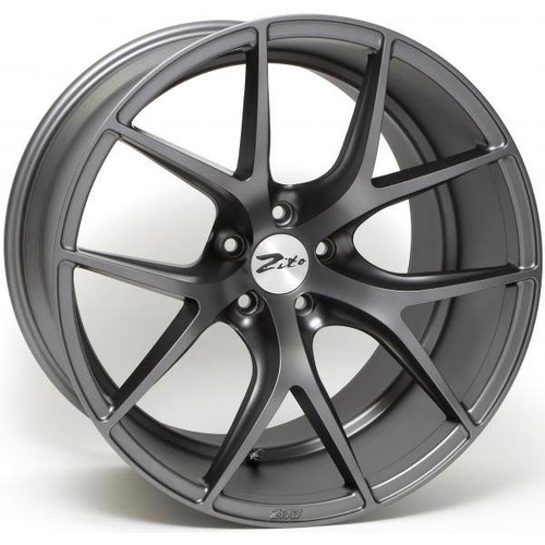 Zito ZS05 Alloy Wheels Matt Gunmetal