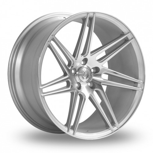 Axe EX31 Silver Polished Alloy Wheels