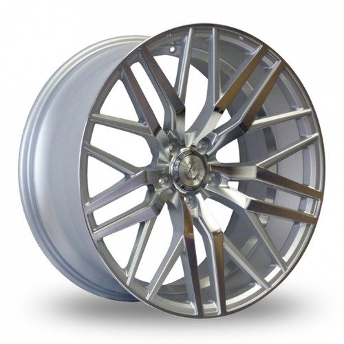 Axe EX30 Silver Polished Alloy Wheels