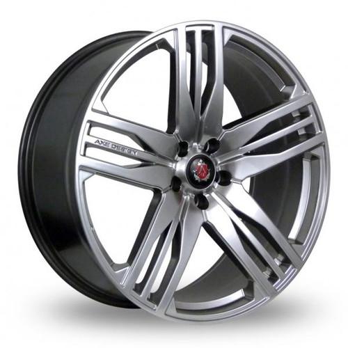 Axe EX22 Hyper Silver Alloy Wheels
