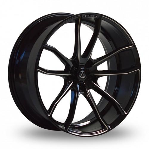 Axe EX33 Gloss Black Alloy Wheels