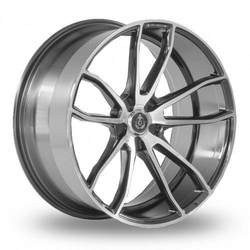 Axe EX33 Black Polished Alloy Wheels