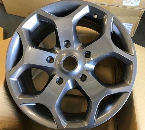 "18""gloss grey Ford Transit Alloy Wheel-Commercial Van MK6 /MK7/MK8-st with tyres"