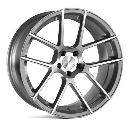 Ispiri ISR6 Alloy Wheels Satin Silver Machined