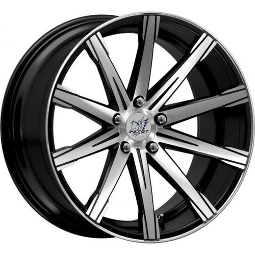 Inovit Revolve Alloy Wheels Black Machined Face