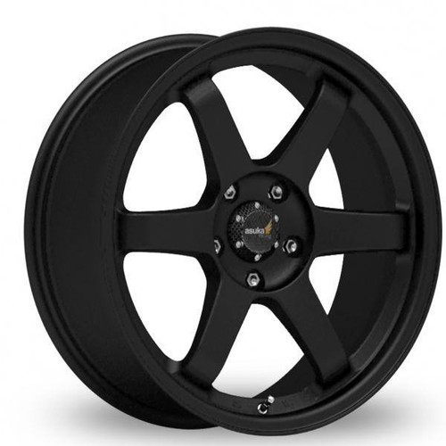 Inovit ST16 Alloy Wheels Black Satin