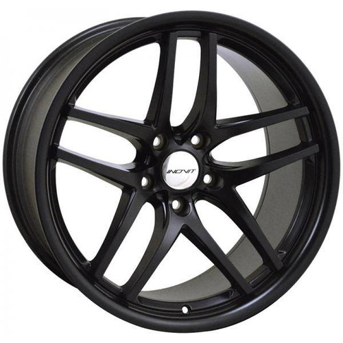 Inovit Speedy Alloy Wheels Black Satin