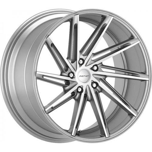 Inovit Turbine Alloy Wheels Silver Machined Face