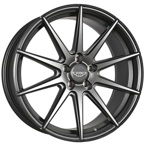 Judd T311 Alloy Wheels Matt Gunmetal Black Rivets