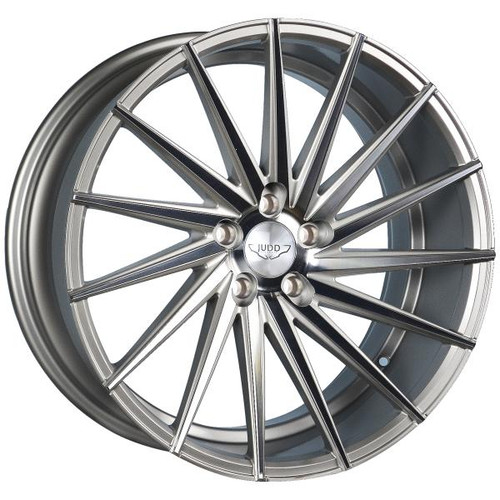 Judd T415 Alloy Wheels Silver Polished Face