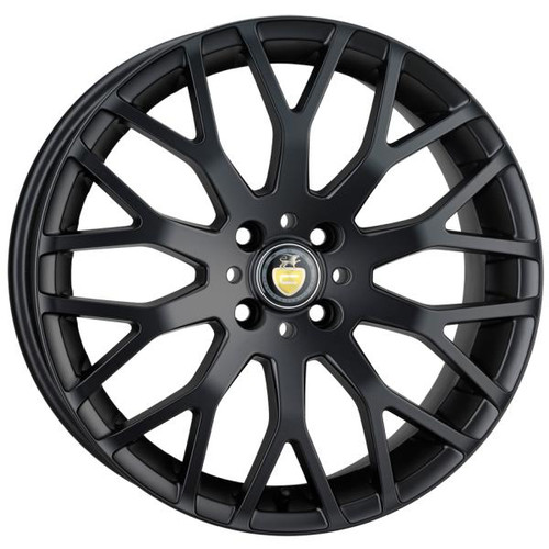 Cades Vienna Alloy Wheels Matt Black