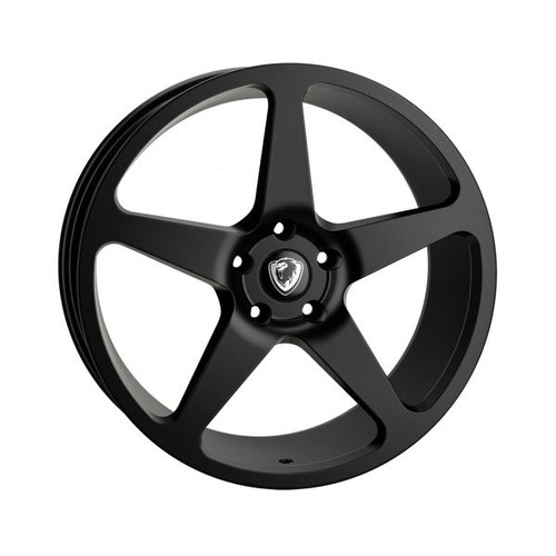 Cades Vulcan Alloy Wheels Matt Black