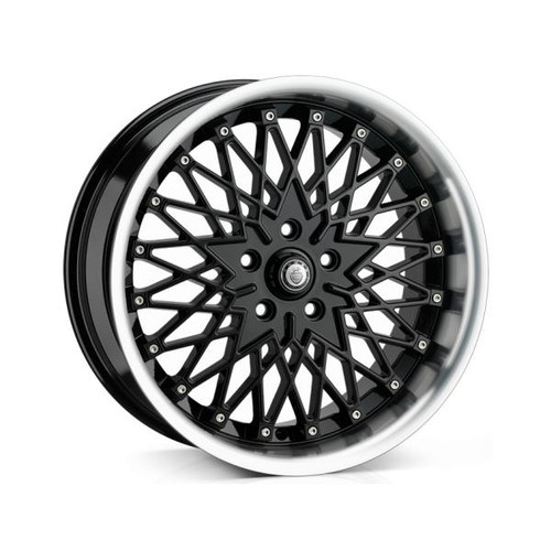 Cades Zeus Alloy Wheels Black