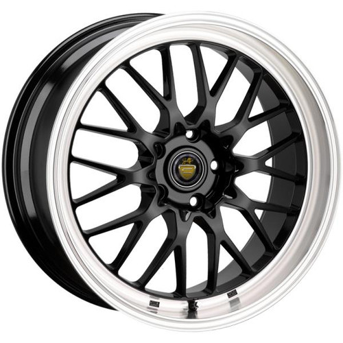 Cades Tyrus Alloy Wheels Black