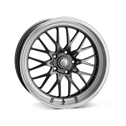 Cades Tyrus Alloy Wheels Dark Gunmetal Polish