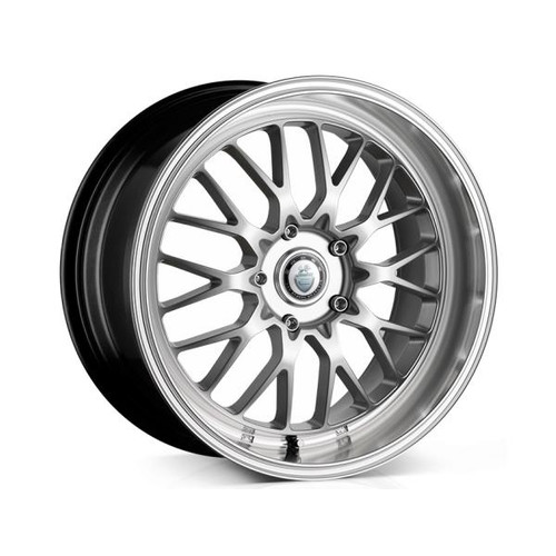 Cades Tyrus Alloy Wheels Silver Lip Polish