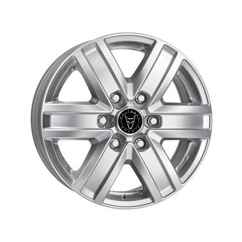 Wolfrace GB Transporter Alloy Wheels Polar Silver