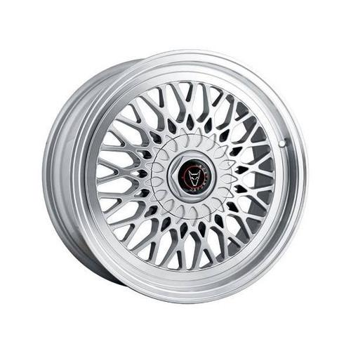 Wolfrace Eurosport Classic Alloy Wheels Hyper Silver / Polished Lip