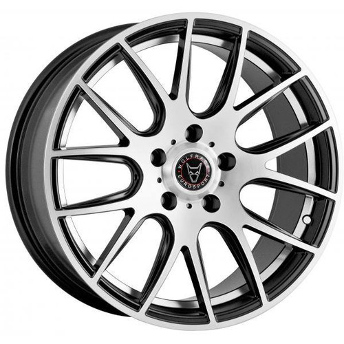 Back to all Wolfrace Eurosport Wolfrace Eurosport Munich 2 Alloy Wheels Gloss Black / Polished
