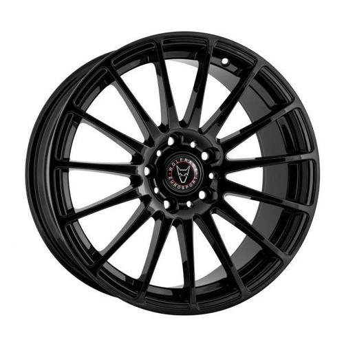Wolfrace Eurosport Turismo Alloy Wheels Gloss Black