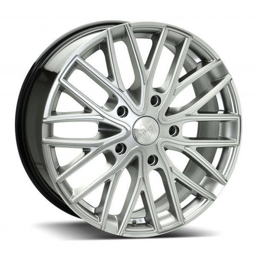 Wolf Design GTR Alloy Wheels Hyper Silver / Polished
