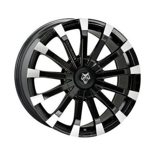 Wolf Design Wolf Design Renaissance Alloy Wheels Gloss Black / Polished