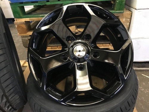 "18""black gloss Ford Transit Alloy Wheel-Commercial Van MK6 /MK7/MK8-st"