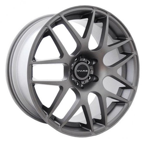 Dare DR X2 Alloy Wheels Matt Gunmetal