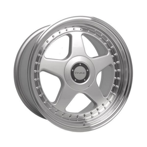 Dare F5 Alloy Wheels Silver / Polished Lip