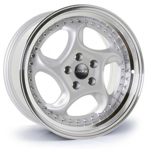 Dare F6 Alloy Wheels Silver / Polished Lip