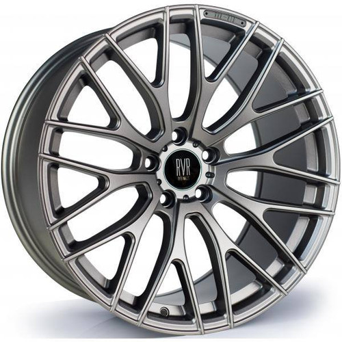 River R10 Alloy Wheels Matt Gunmetal