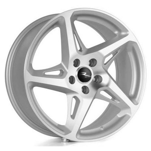 River R4 Alloy Wheels Silver / Matt Polished Face