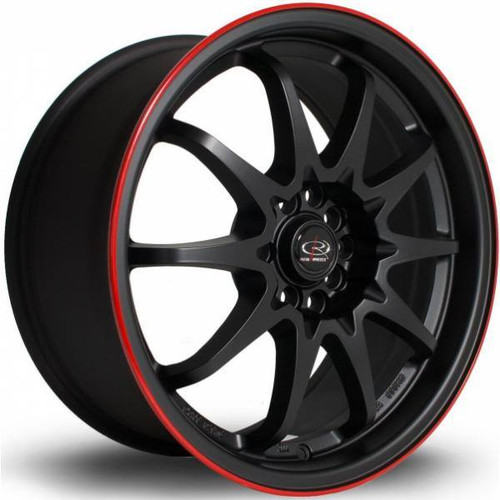 Rota Force Alloy Wheels Fblackrlip