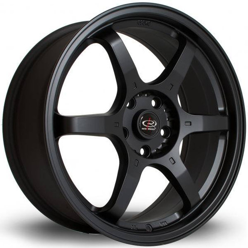 Rota GR6 Alloy Wheels Fblack