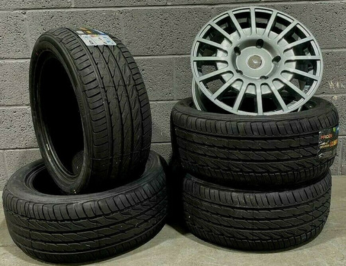 "18""grey Sport Ford Transit Alloy Wheels-Rated Van MK6 /MK7 /MK8-st style-& Tyres"