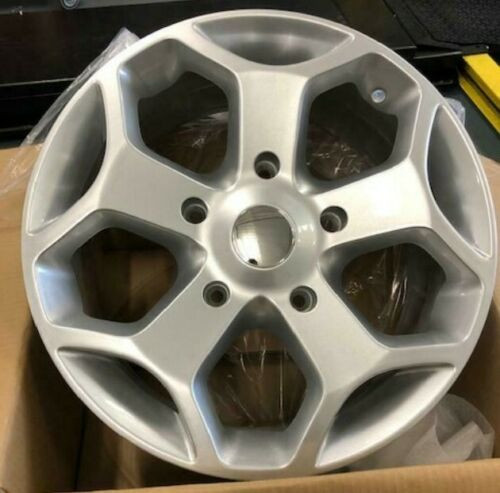 "18""silver Ford Transit Alloy Wheels Commercial Van MK6 /MK7/MK8-st & tyres"