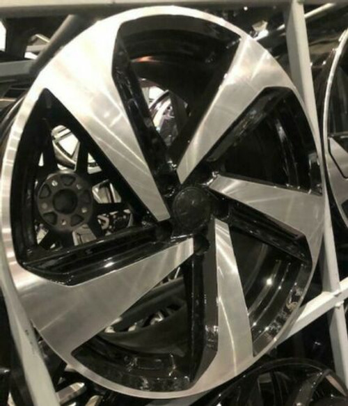 "19""2019 gti black pol alloy wheels audi/vw/tt/t4/a4/a3/a6/golf/seat"