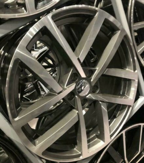 "19""vancouver grey pol gti alloy wheels audi/vw/tt/t4/a4/a3/a6/golf/seat"